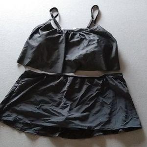 Danskin now 2 pc bathing suit